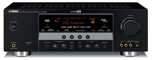 Yamaha Unveils New Line of Enhanced Receivers : RX-V863, RX-V663, RX-V563, RX-V463, RX-V363