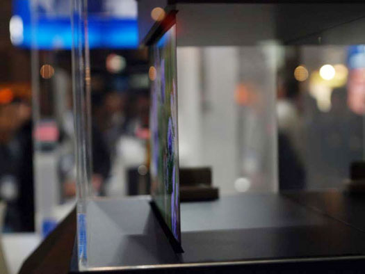 Sony Shows Of Ultra-Thin OLED Displays