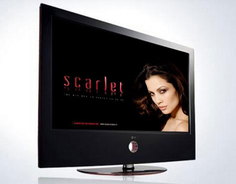 Scarlet introduced by LG for its LCD TV Series