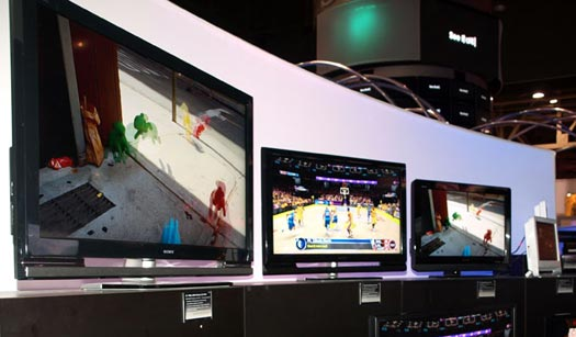 Sony selects tri-colour LED backlighting for top-end TVs