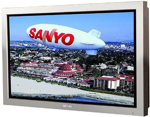 Sanyo's New 52″ LCD High-Definition Waterproof Monitor