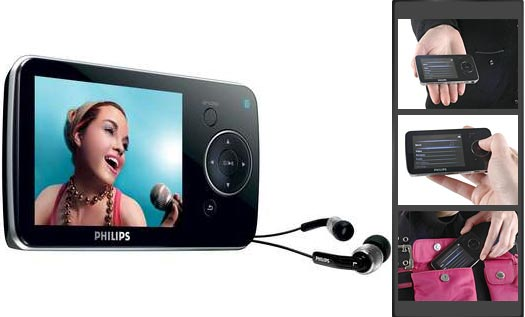 Philips GoGear SA5285BT w/ Bluetooth (8GB)