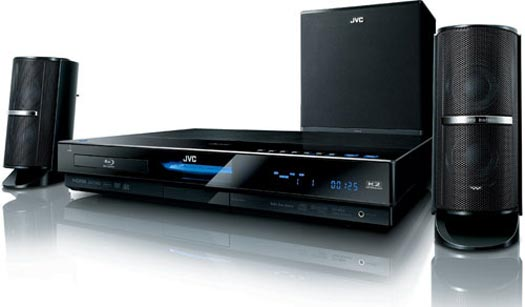 JVC Launch DLNA Enabled Blu Ray Home Cinema System