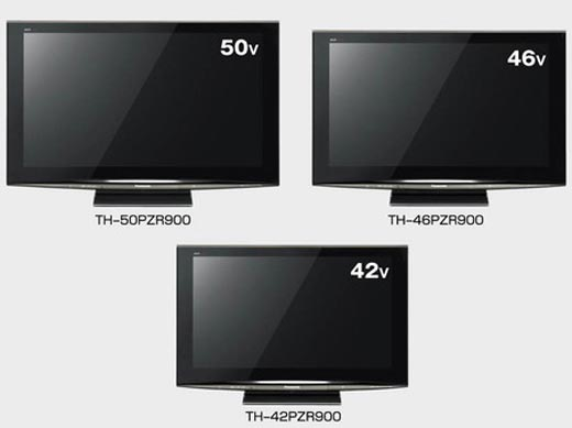 Panasonic launch PZR900 series of Viera plasmas
