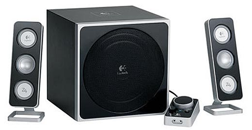 Logitech Z-5 Omnidirectional PC Speakers Launch