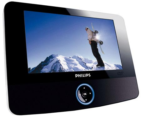 Philips PET723 Portable DVD Player Review