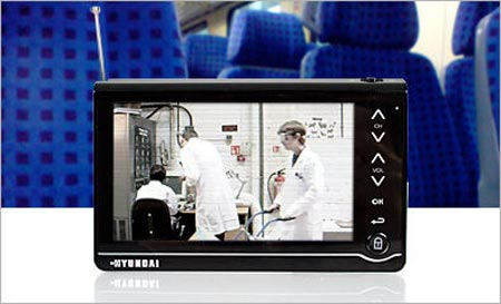 Watch Digital Freeview On The Move With A Firebox Portable TV